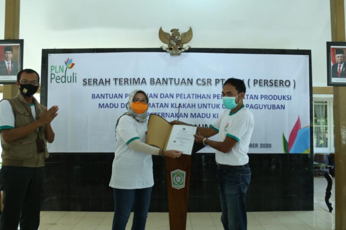 Dana CSR Kembangkan Potensi Madu Saeman Klakah