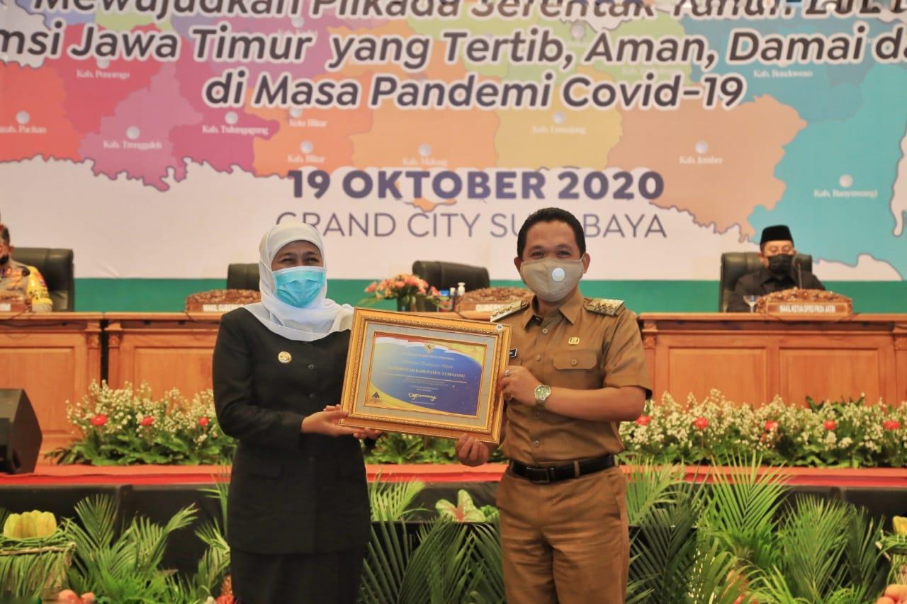 Penghargaan Opini WTP Kembali Diraih Pemerintah Kabupaten Lumajang