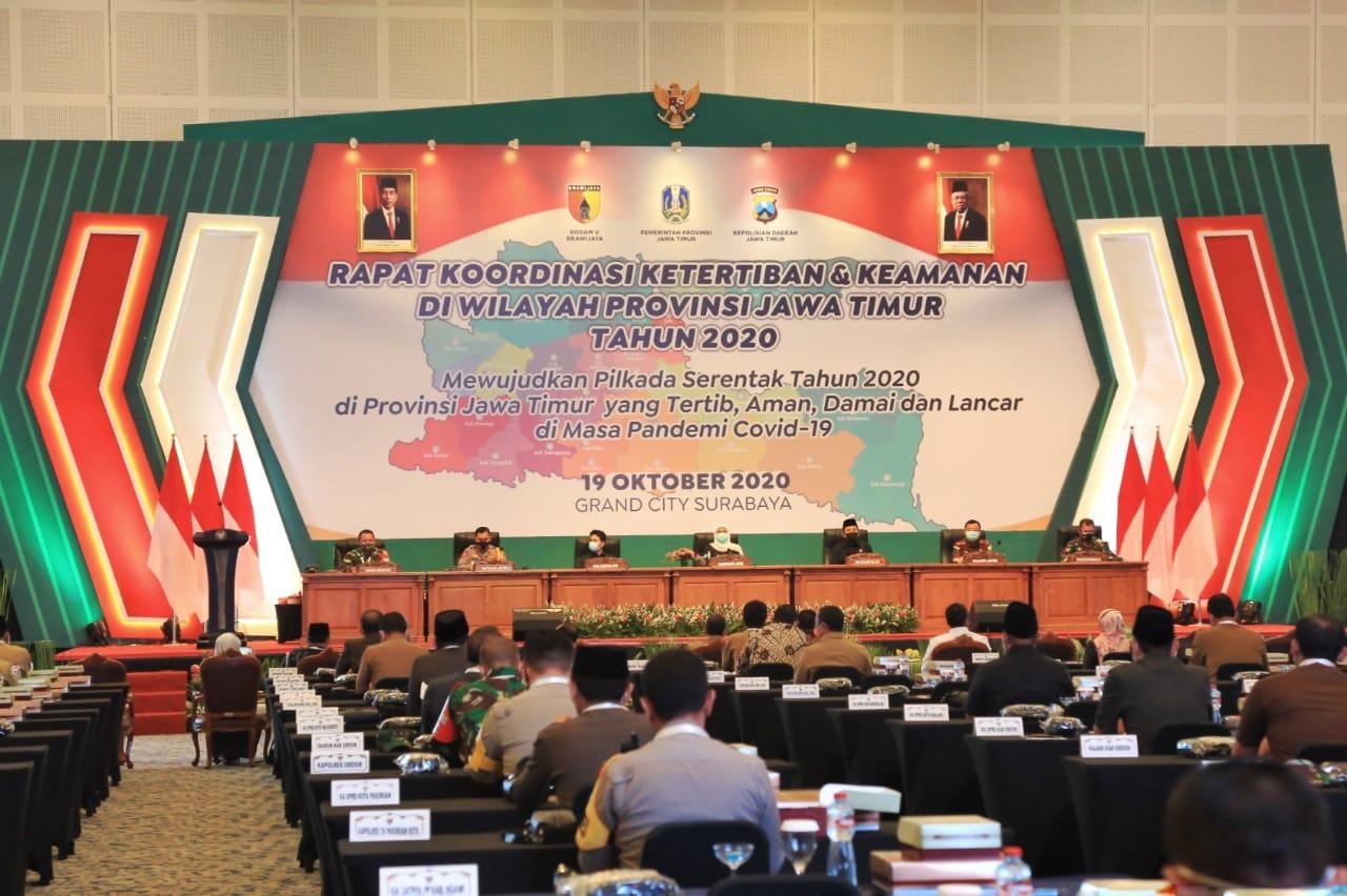Bupati Diapresiasi Kapolda Jatim Atas Upaya Penanganan Covid-19 di Lumajang