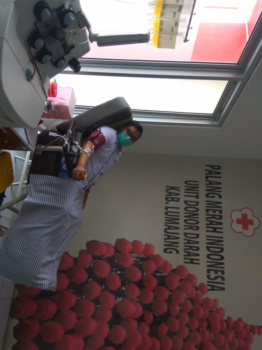 RS Jember Klinik Bersinergi Dengan UTD PMI Lumajang Untuk Menyediakan Stok Vaksin Covid-19