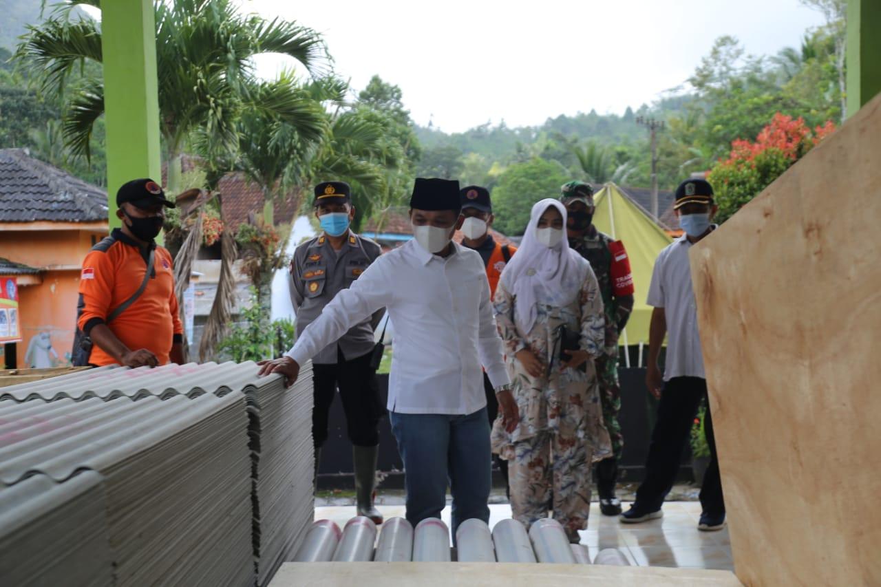 Bupati: Hunian Sementara Berasal Dari Uang Masyarakat di Baznas