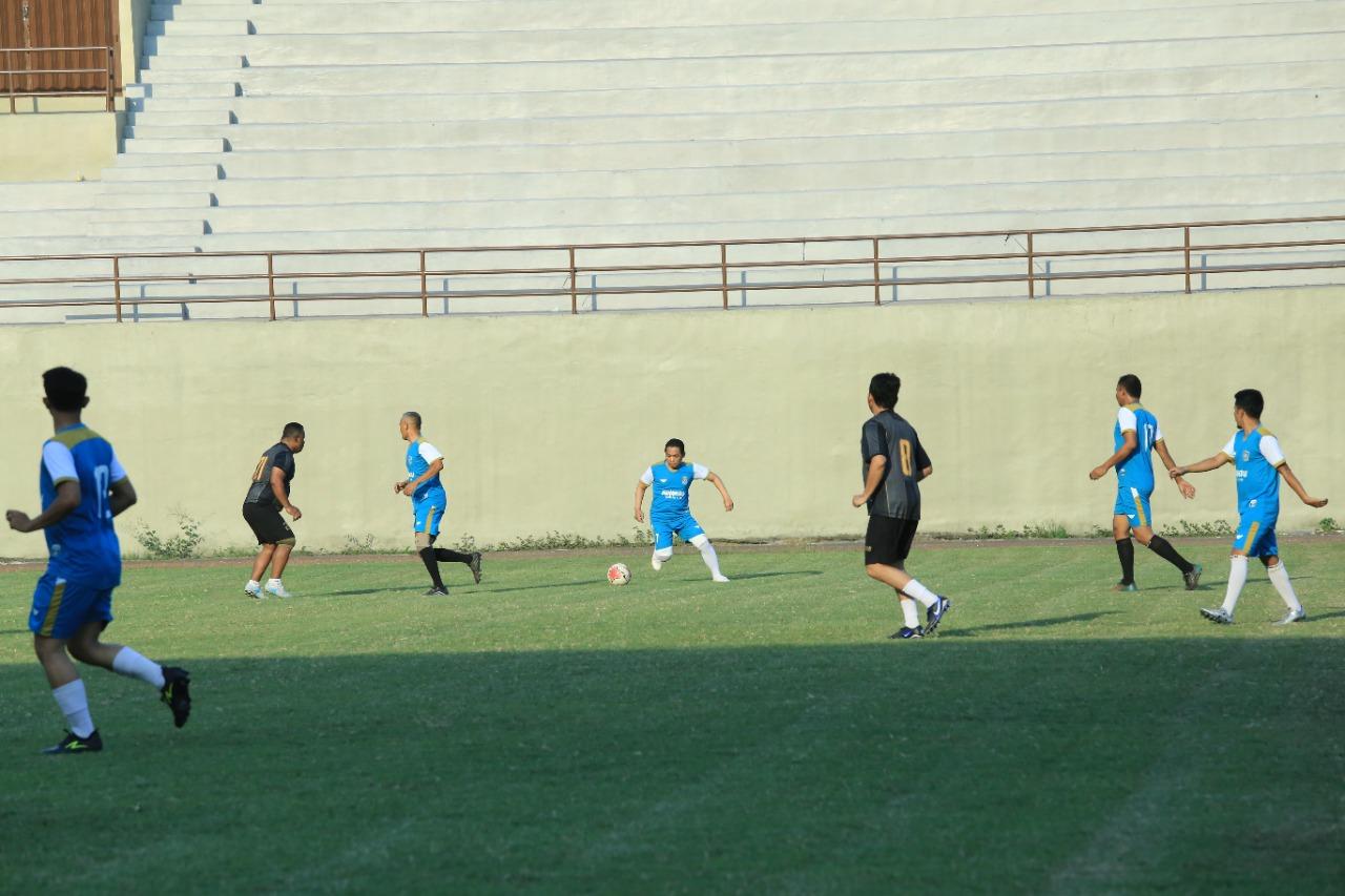 Bupati Main di Laga Persahabatan Lawan Arema Legend FC