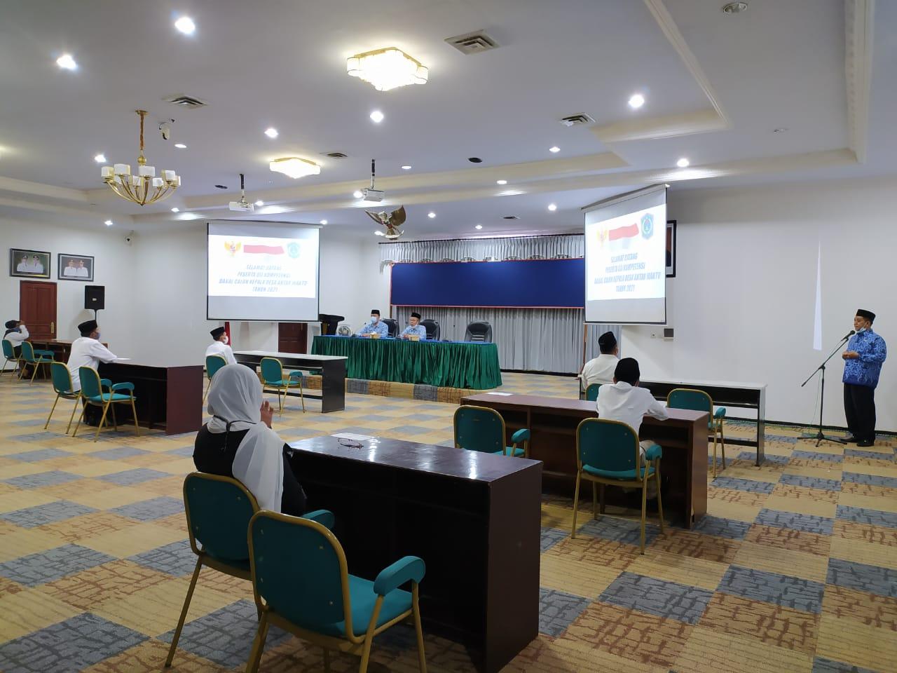 DPMD Gelar PAW 3 Kades di Lumajang