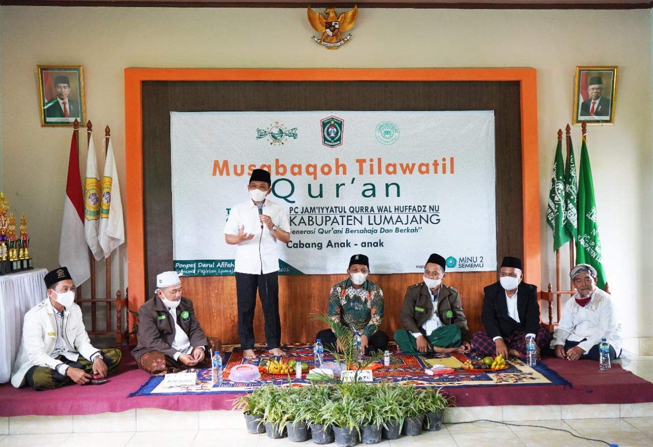 Bupati Harap MTQ Bisa Mencetak Generasi Qur'ani